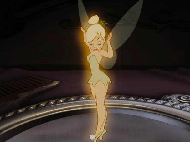 A screen-grab from Disney's Peter Pan courtesy of the Disney Wiki.