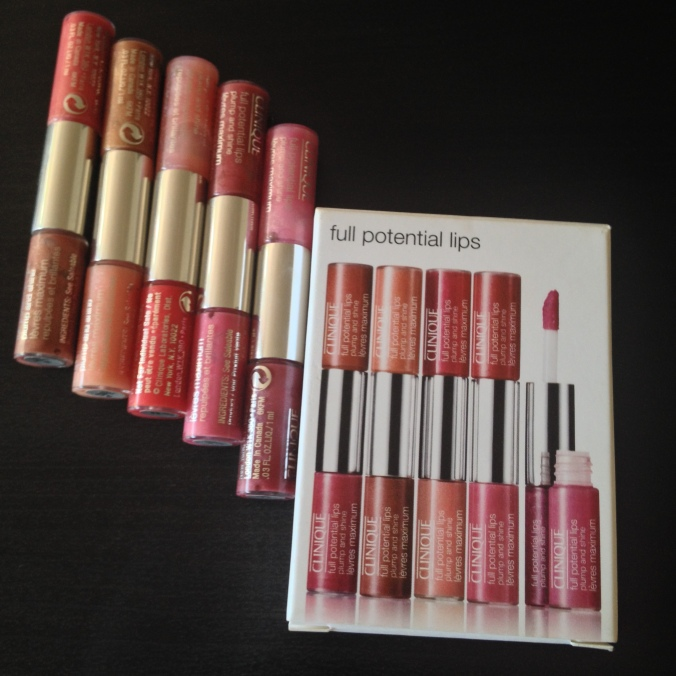 The Full Potential Lips Glosses in their mini glory!