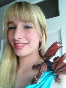 Me and my little dragon friend.